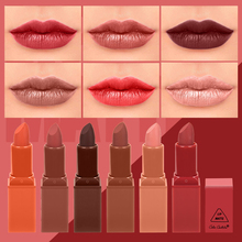COLOR CASTLE  6 Colors New Fashion Velvet Matte LipStick Easy toWear Rich Color Charming Perfect