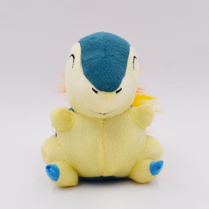 New Cartoon Anime Cyndaquil Soft Stuffed Plush Peluche Toy Animal Doll Gift For Children 6