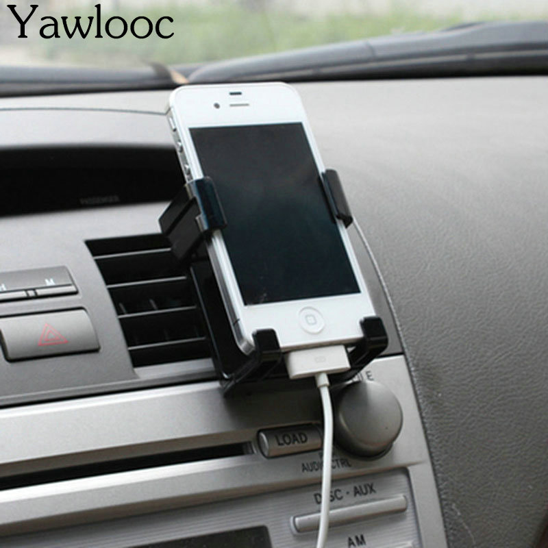 Stand Holder For Iphone 7 6 Plus 5s Car Holder Kit Air Vent Mount GPS Accessories For Samsung Stand Support Mobile Phone Holder meidi car air vent mount phone holder stand 360 rotate adjustable holder for iphone samsung xiaomi