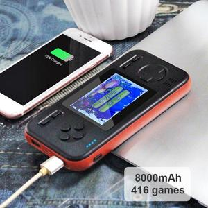 Image 5 - Handheld Game Console Retro Gaming Machine with 8000mAh Power Bank Buil in 416 Classic Games Game Playing Toys
