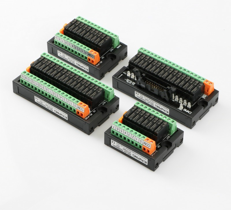 16 way open contact relay module PLC output signal amplifying relay disc RT P16S 24V in ABS Sensor from Automobiles Motorcycles