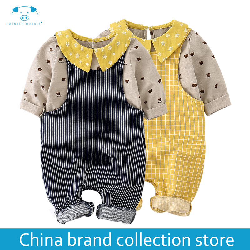 baby clothes Autumn newborn boy girl clothes set baby fashion baby brand products infant clothing set clothing bebe MD170Q028 3pcs set newborn infant baby boy girl clothes 2017 summer short sleeve leopard floral romper bodysuit headband shoes outfits