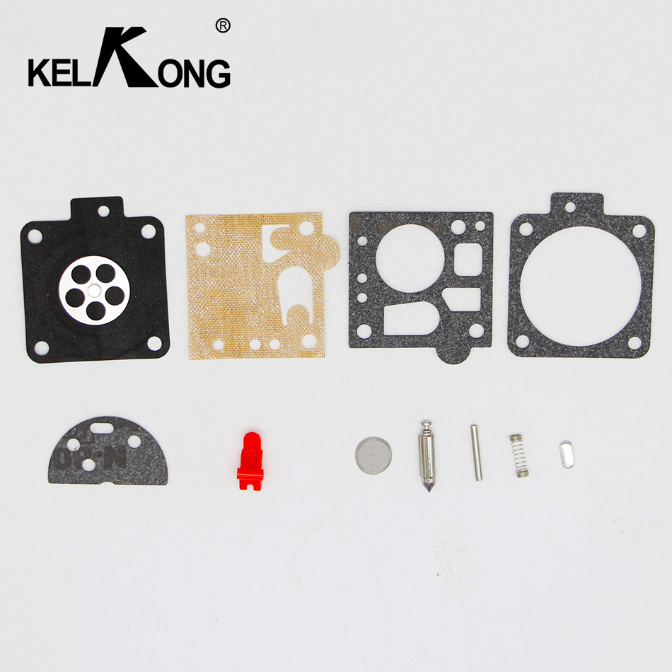 KELKONG Carburetor Repair Kit Gasket For STIHL MS380 MS381 038 Carb OME 066 06 BING Chainsaw Spare Parts bing 48 carburetor carb repair gasket kit for stihl ms380 ms381 038 and some 066 064 chain saw spare parts 1119 007 1062