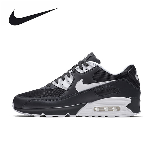 online retailer 65b6d 72d8b NIKE AIR MAX 90 ESSENTIAL Original Mens Running Shoes Mesh Breathable  Footwear Super Light Sneakers For Men Shoes 537384-089