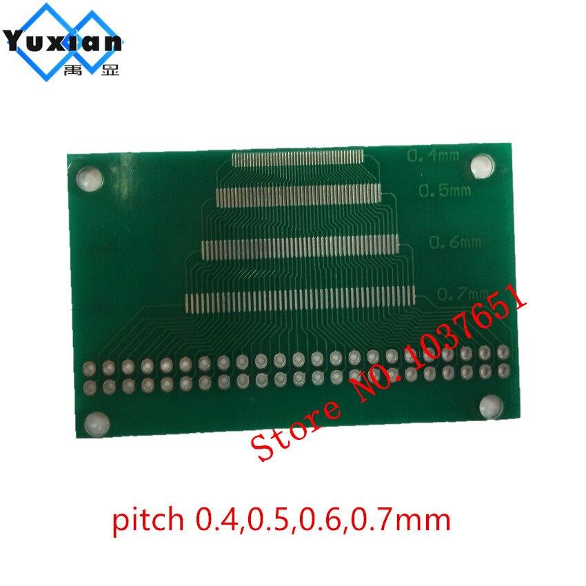 Bildschirme 0,5mm Zu 1,0mm Pin Pitch Adapter Pcb Fpc Bord 2,0-3,5 Zoll Tft Lcd Display Panel Interface Smd Zu Dip 2,54mm Pcb Doppel Seite Mit Den Modernsten GeräTen Und Techniken