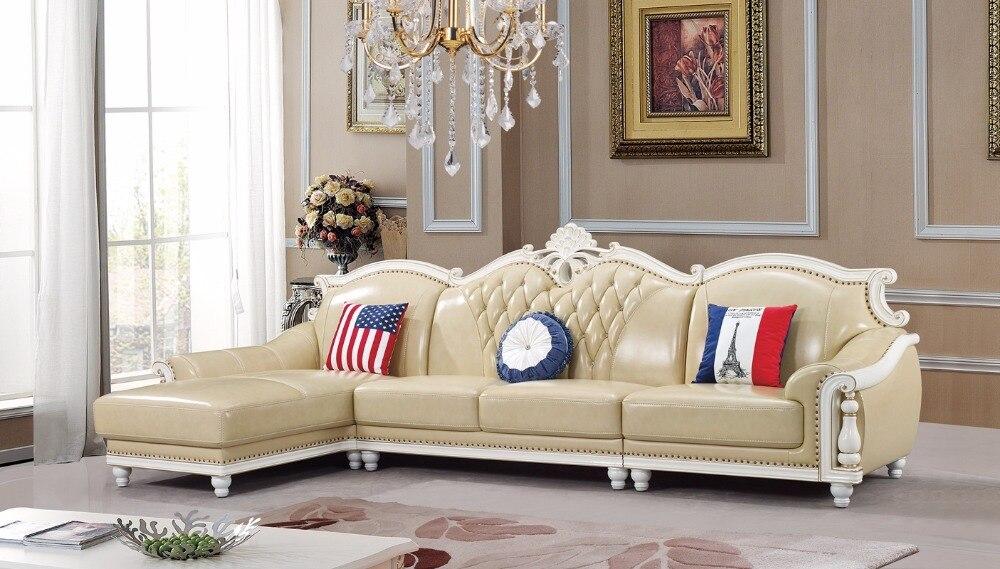 ingrosso di alta qualità grande divano ad angolo da grossisti ... - Luxe Reale Grande Divano Ad Angolo Set