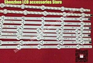 "Image 5 - 10 Pieces/lot,  original 42""LED strip  For Vizio E420 A0 LG 42LN5300  LG 42LN5400  LC420DUE(SF)(R7)  R1+L1=6PCS  R2+L2=4PCS"