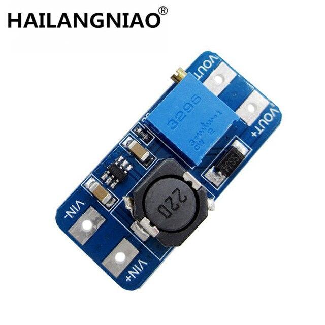 100 unids/lote MT3608 2A Max DC DC paso potencia Módulo de aumento de potencia para