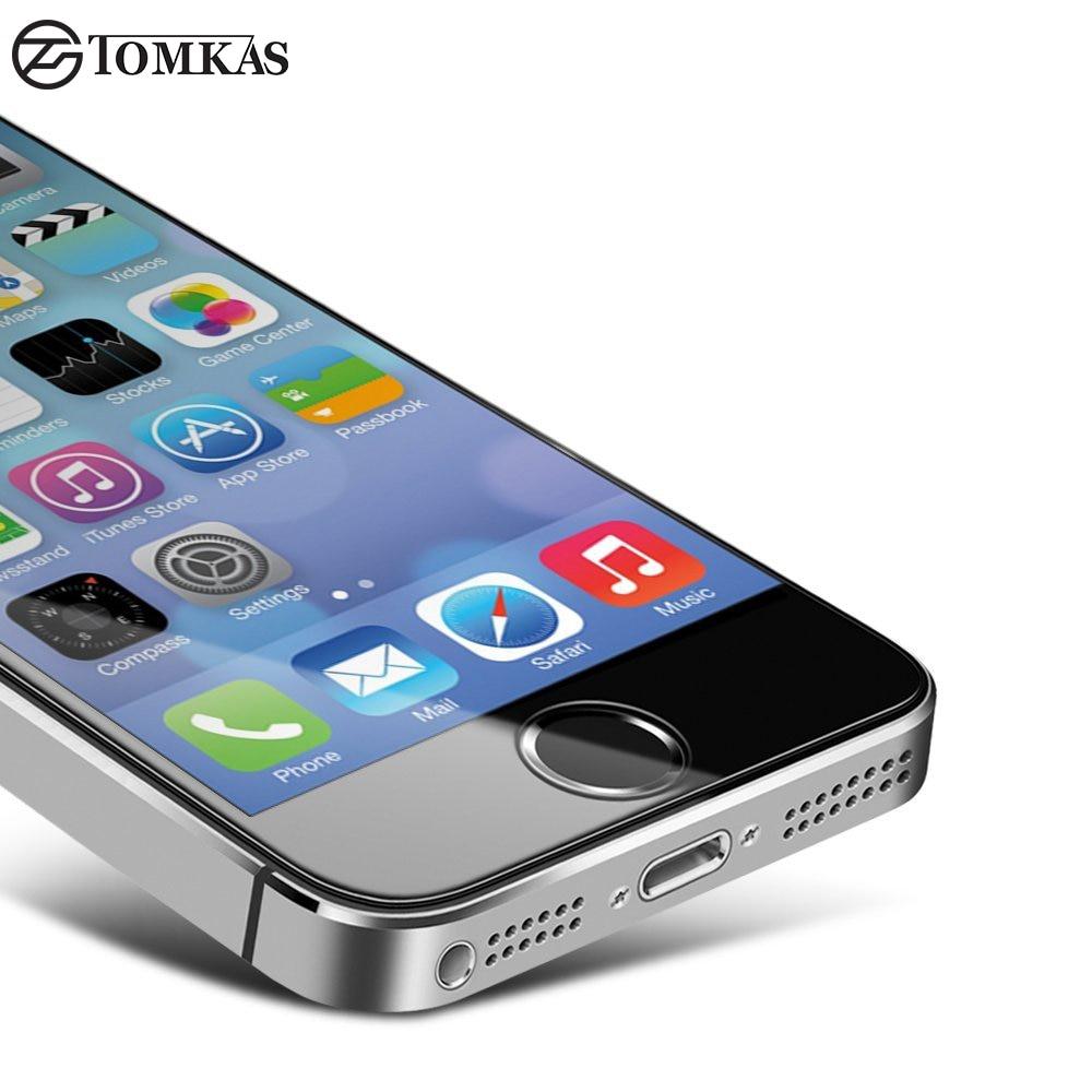 TOMKAS 5S Tempered Glass Προστατευτικό οθόνης - Ανταλλακτικά και αξεσουάρ κινητών τηλεφώνων - Φωτογραφία 5