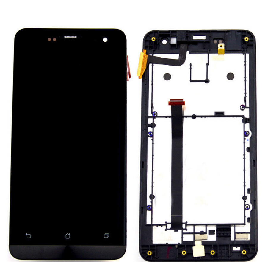 100 Original Touch Screen lcd Display Panel Screen Assembly with frame For Asus Zenfone 5 A500cg