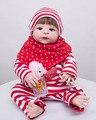 55 cm de Corpo Inteiro de Silicone Renascer Boneca Brinquedos Menina Recém-nascidos Bebês Aniversário Presente de Natal Meninas Do Bebê Brinquedos de Banho Brinquedos De Banho Com Duche