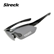 Sireck Cycling Glasses UV400 Polarized Outdoor Sport Glasses Bicycle Riding Travel Bike Glasses Sunglasses Men Occhiali Ciclismo