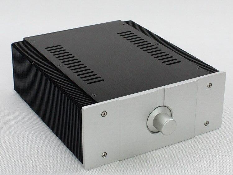 Nuevo de aluminio chasis del amplificador/amplificador de audio en casa caso (t