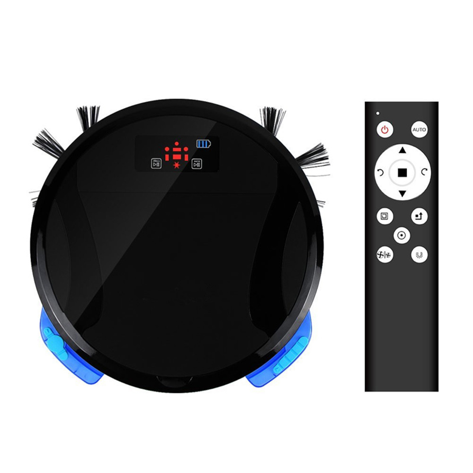 Smart Phone WiFi APP Remote Control Wet and Dry Robot Vacuum Cleaner 330C Washing Cleaner Household Cleaning Bagless Vacuum Robo pakwang advanced d5501 wet and dry robot vacuum cleaner washing mop robot vacuum cleaner for home