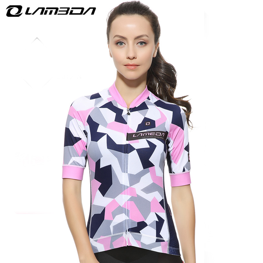 Summer cycling Jersey women Short Sleeve breathable cycling clothing quick dry mtb road bike bicycle Jersey стоимость