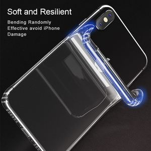 Image 3 - SAMZHE for Transparent iPhone X Case Protector Shockproof 360 degree full cover for iPhone X