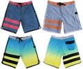 AWESOME 4-Way Stretch Boardshorts Men's Elastane Beachshorts Bermuda Shorts Quick Dry Board Shorts 30/S 32/M 34/L 36/XL 38/XXL