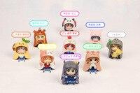 Himouto Umaru chan Minami Kotori Kousaka Honoka Maki Nishikino Anime Action Figure PVC toys Collection figures for friends gifts