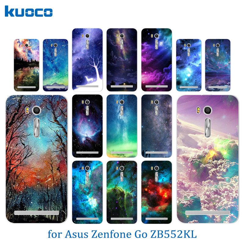Cases for Asus Zenfone Go ZB552KL Starry Sky Pattern Cover 5.5 Soft TPU Silicone Cases for Asus Zenfone Go zb552kl Case
