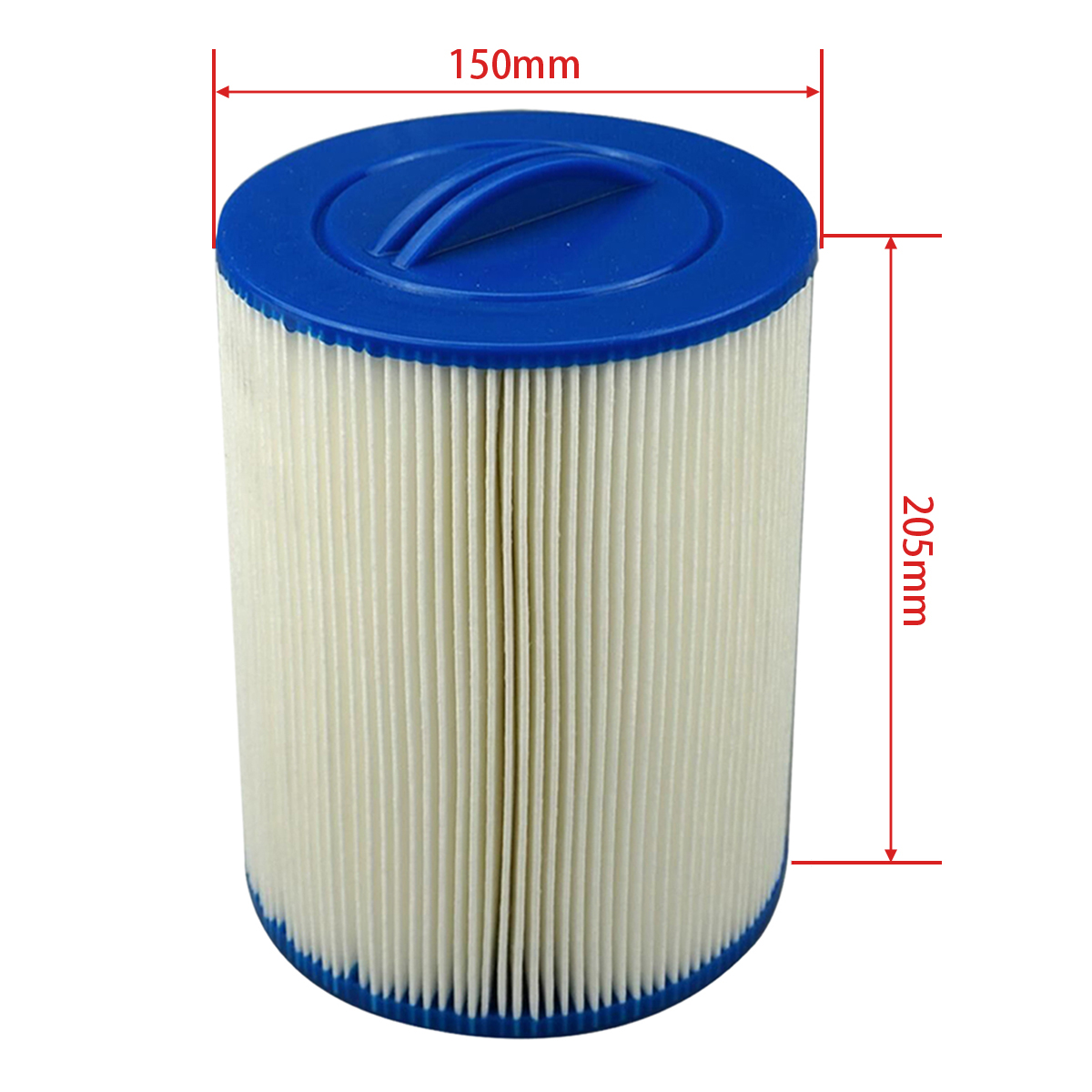 2pcs spa filter element Unicel 6CH 940 Pleatco PWW50 205mmx150mm with38mm hole hot tub filter cartridge