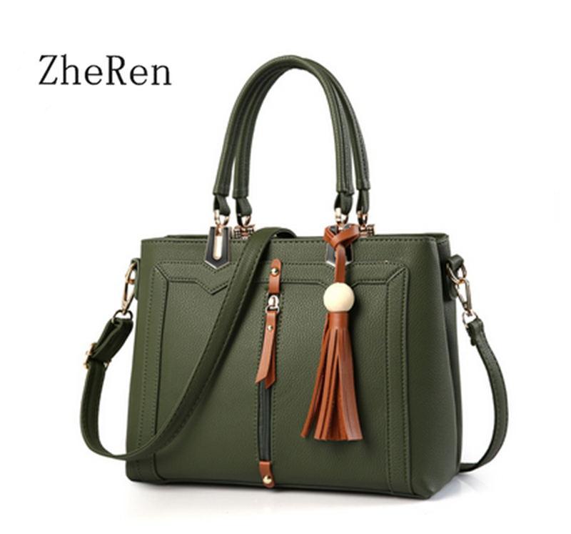 2017 new bags sweet lady Set Bag Fashion Handbag Shoulder Bag Handbag Satchel 2016 new fashion women bags sweet lady korean version of the handbag candy colored shoulder bag lady