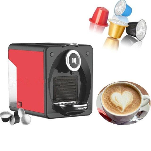 220v capsule nespresso coffee machine automatic espresso coffee maker
