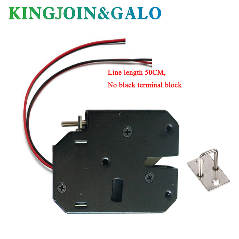 Custom made DC 12V 2A Solenoid Electromagnetic Electric Control Cabinet Drawer Lockers Lock latch цена
