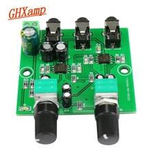 GHXAMP שני דרך סטריאו אודיו אות מיקסר לוח עבור אחד דרך הגברה פלט אוזניות מגבר אודיו DIY (2 קלט 1 פלט)