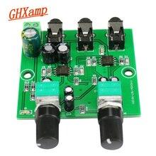 Ghxamp 양방향 스테레오 오디오 신호 믹서 보드 편도 증폭 출력 헤드셋 앰프 오디오 diy (2 입력 1 출력)