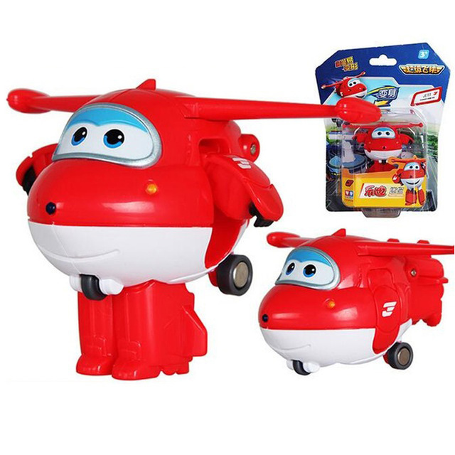 New Mini Super Wings Airplane Robot Action Figures