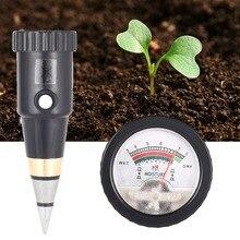 Soil Tester Monitor PH Meter Moisture Tester For Agriculture Plants Flowers 2.5-9.0pH Pen Tester for Gardeners Fruit Growers