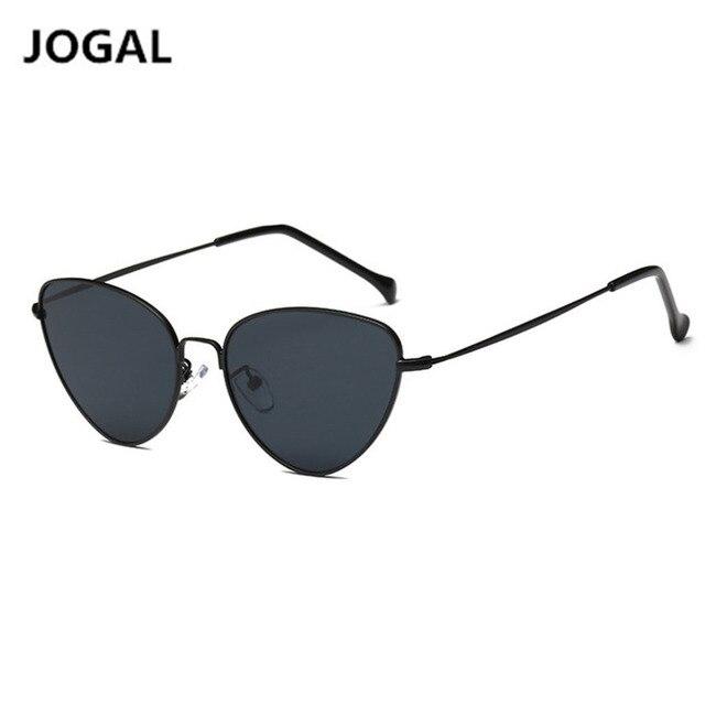 086d29d92e5 Fashion Brand Vintage Cat Eye Sunglasses for Women Men Mirror Lens Metal  Frame Sun Glasses UV400 Oculos Wholesale Drop shipping