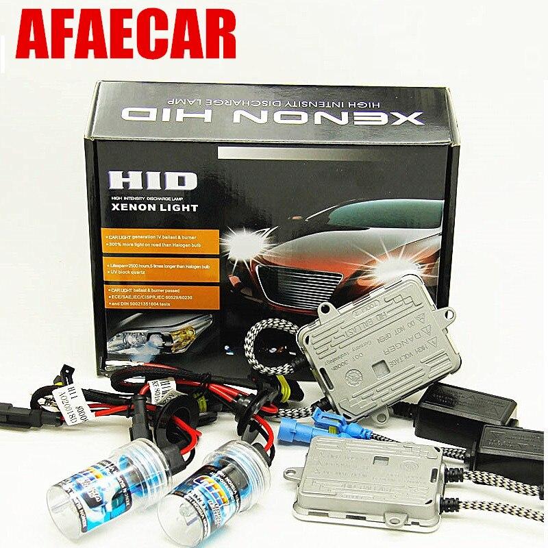 1 kit car xenon 55w 880 881 h7 h11 9005 9006 h1 h3 55w car hid