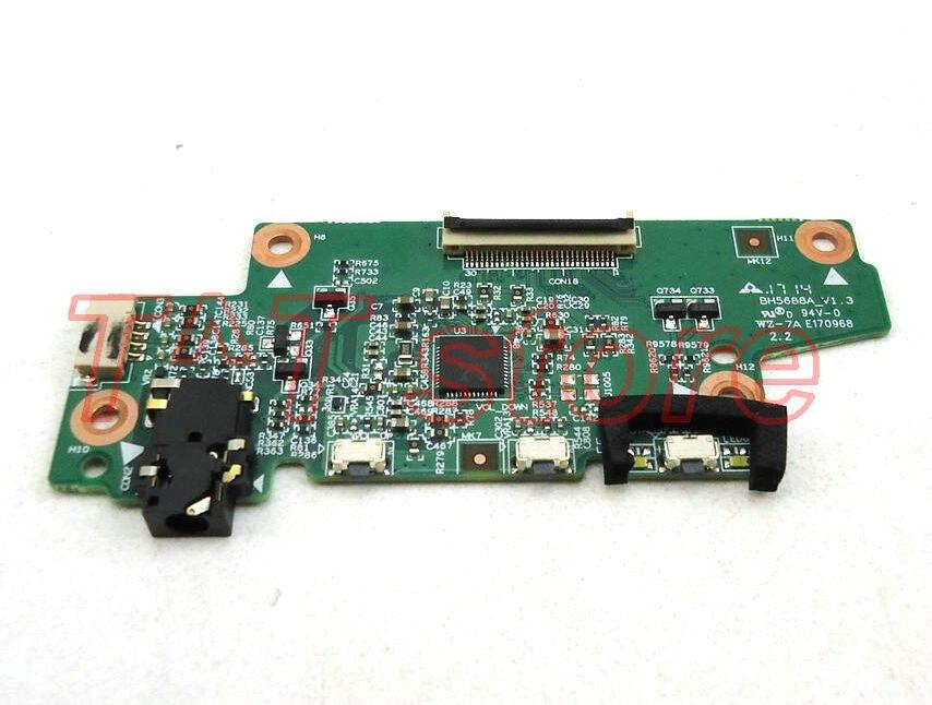 Livraison gratuite original pour Lenovo Chromebook yoga N23 commutateur de bouton d'alimentation carte Audio 3005-02874 5P68C07640 BH5688A_V1.3