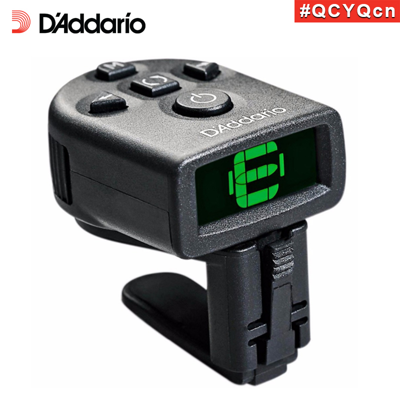 D'addario Daddario Planet Waves PW-CT-12 NS Mini Headstock Clip Tuner, guitars, basses, mandolins, banjos