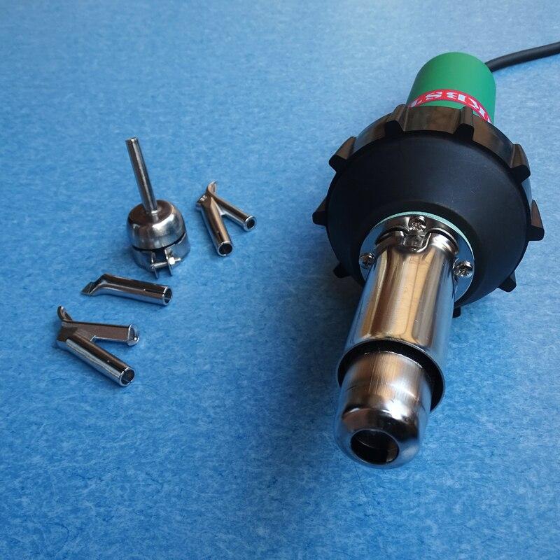 Быстро DHL/EMS Бесплатная доставка 110 В/220 В 1600 Вт CE ручной воздушный Пластик Сварщик Gun ПВХ сварки горячим воздухом факел