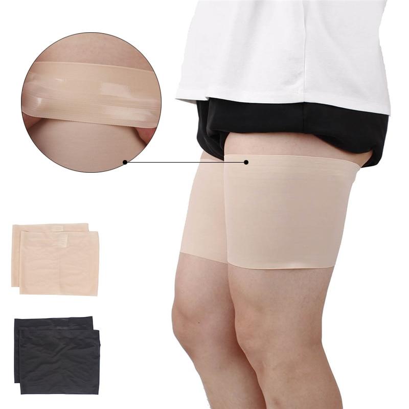 Leg Warmer Slimmer Band Women High Elastic Silica Gel Anti-friction Protection Thigh Bands Leg Warmers Women Been Warmers Sock