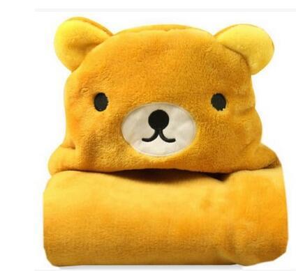 Детский халат розничная новый банный халат с капюшоном детские плащ полотенце Животная модель
