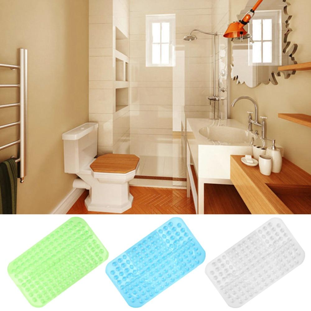 Large Strong Suction Anti Non Slip Bath Shower Mat - Foot Massage Cushion PVC Cheap Price