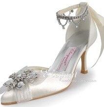 Wedding font b shoes b font satin font b custom b font made high heel pumps