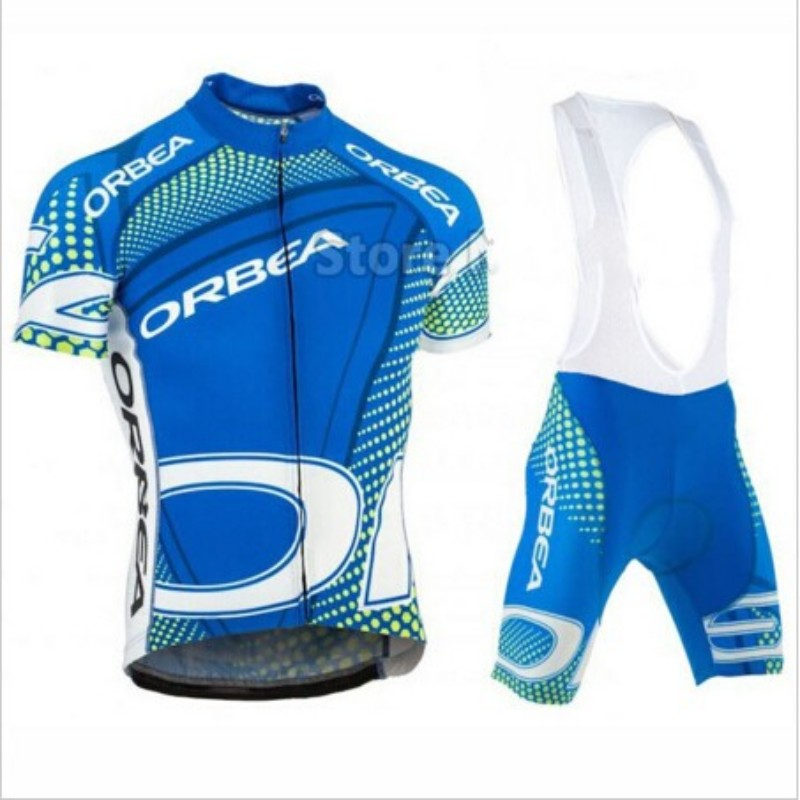 2016 Team Quick dry breathable 6 Colors Orbea Cycling jersey Set / Ropa Ciclismo MTB Road bike bicycle  clothes 9d gel pad breathable quick dry bike ropa ciclismo skintight short sleeve cycling jersey clothes gel pad bicycle cycling clothing
