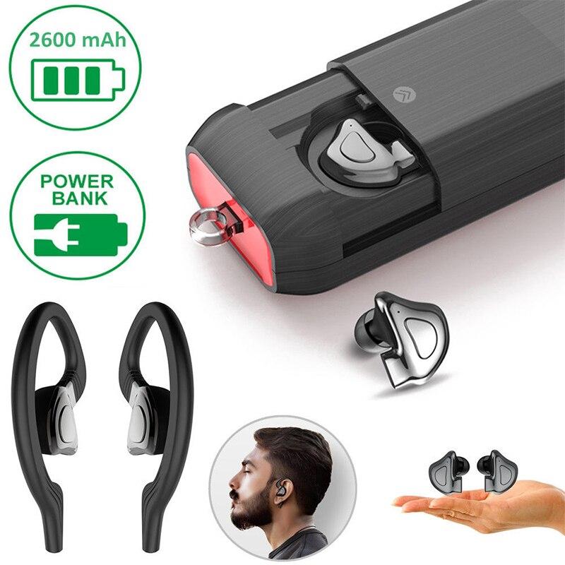 Mini Bluetooth TWS écouteur sans fil suspendu Mobile Bluetooth mains libres casque Sport écouteur de haute qualité 2019 - 2