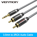 VENTION  HIFI 3.5mm Jack to 2 RCA Audio Cable Gold-plated 2 RCA Jack Plug Stereo Aux Cable for Home Theater DVD VCD Headphones