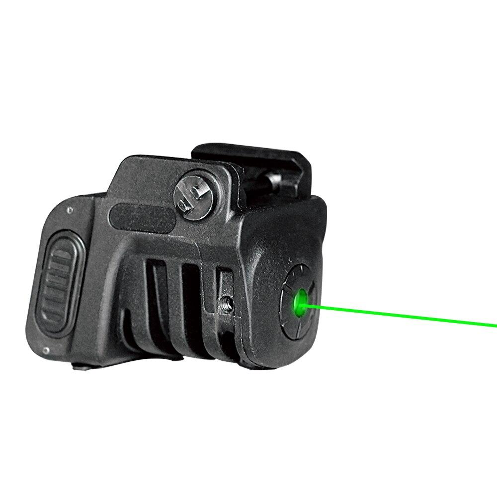 Drop shipping Laserspeed 600 yards visibility laser sight 532nm 5mw green laser sight at night glock