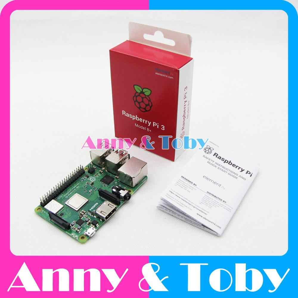 Element14 Version: 2018 neue Original Raspberry Pi 3 Modell B + Plus BCM2837B0 1 GB SDRAM auf-board WiFi/Bluetooth PI 3B + PI3 B + Plus