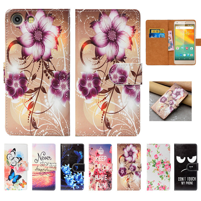 For Prestigio Grace S7 LTE Case High Quality Pu Leather 5.5 Flip Wallet Case Back Cover Book Case For Prestigio Grace S7 LTE