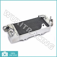 2Pcs L R Aluminium Core MX Offroad Motorcycle Radiators Cooling For KAWASAKI KX80 85 100 98