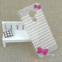 Роскошный белый жемчуг розовый бант celular фун оболочки для leeco le 2 pro case new hot жесткий pc мобильного телефона крышка для leeco le pro 2