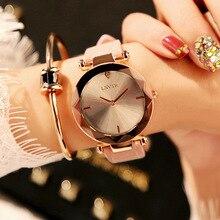 Luxury Rose Gold Women Watches Fashion Elegant Ladies Wrist 2019 Best Roman Numeral Female Gift Clocks