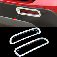 2016 New Brand 2 Pcs Set Car Styling Rear Lamp Tail Light ABS Trim Decoration Accessories
